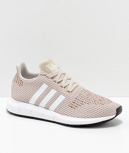 adidas Swift Run W Schuhe brownwhite