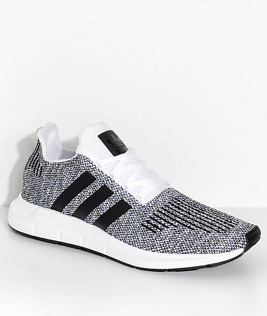 adidas SWIFT RUN WhiteBlackGrey Heather