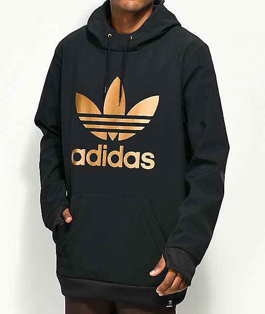 3ebd34163 adidas Team Tech Fleece Black Hoodie | Zumiez