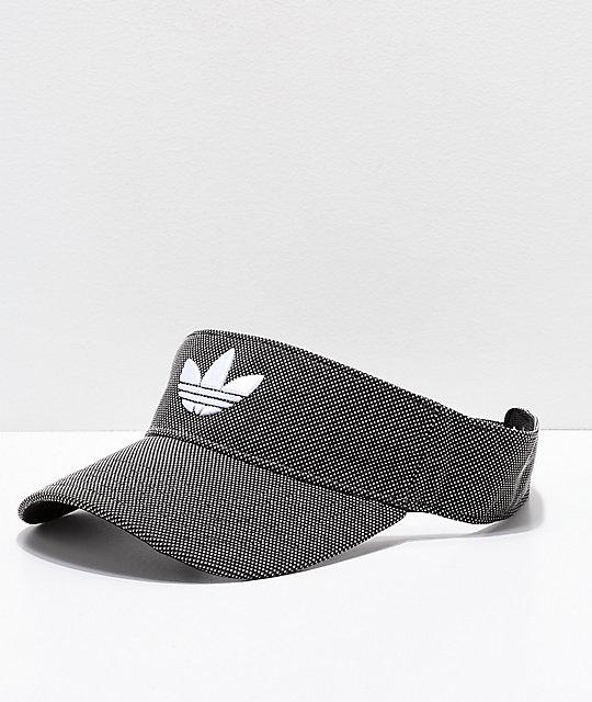 nouveau concept 75b38 e4143 adidas Trefoil Plus Black Dot Visor