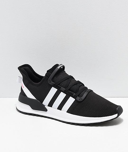 Adidas U Zapatos Y Ash NegrosBlancos Path Run Rosas Ygbyf76v