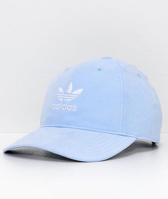 nouveau produit bef58 38fa0 adidas Women's Relaxed Plus Aero Blue Strapback Hat