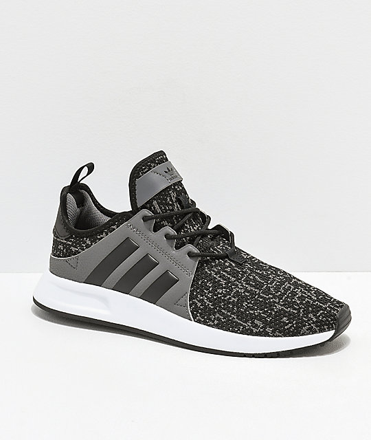 5abe483e9e6140 adidas Xplorer Black, Grey & White Shoes | Zumiez