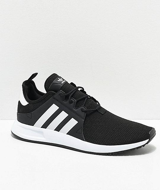 894e14e20f adidas Xplorer Black & White Shoes | Zumiez
