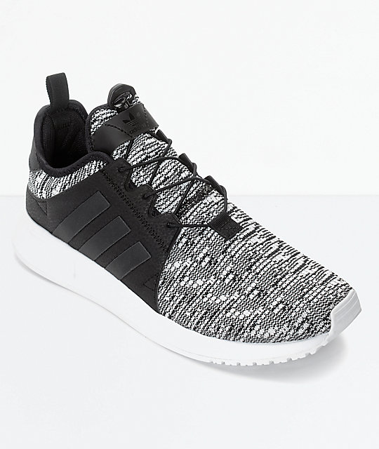 02f8d632c4f71e adidas Xplorer Core Black & White Shoes | Zumiez