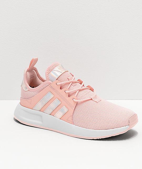 the latest 27c01 faa1c adidas Xplorer Pink & Metallic Shoes