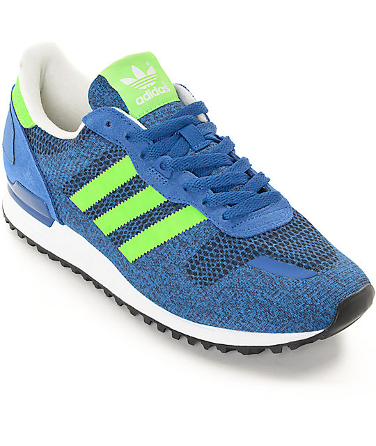 new arrival 684dd 41c50 adidas ZX 700 IM Blue & Green Shoes