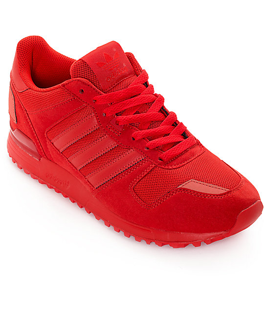 new concept 7ca88 122cb adidas ZX 700 Mono Red Shoes