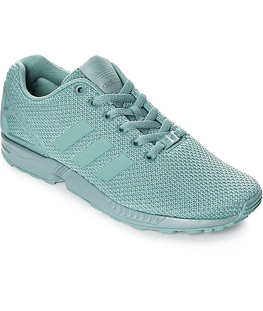 new concept 5c933 9a578 adidas ZX Flux Steel Grey Shoes