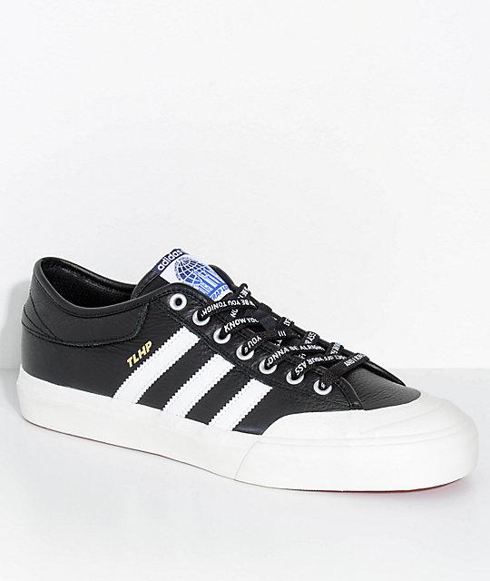 best website a4f5d 73775 adidas x Trap Lord Matchcourt Black & White Shoes