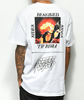 10 Deep Beseiged From All Sides White T-Shirt