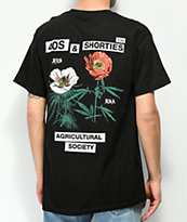 40s & Shorties Agriculture Black T-Shirt