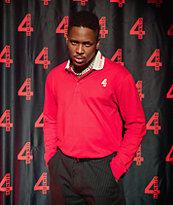4Hunnid Grand Red Long Sleeve Polo Shirt