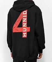 4Hunnid Waves Black Hoodie