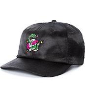 6bf26822e A-Lab Billy Black Satin Snapback Hat