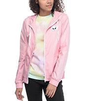 A-Lab Kenlie Aliens Light Pink Windbreaker Jacket