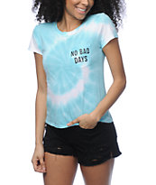 A-Lab Kito No Bad Days camiseta azul con efecto tie dye