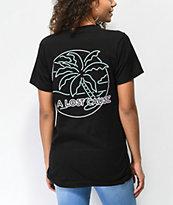 A Lost Cause Neon Dreams camiseta negra