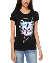 A-lab Thunder Cat Black Tee Shirt