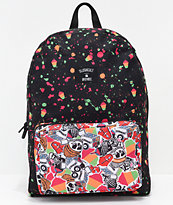 Acembly x Slushcult Splatter & Stripes Modular Backpack