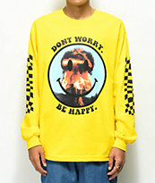 Ain't Nobody Cool Don't Worry Yellow Long Sleeve T-Shirt