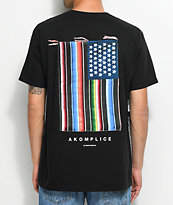 Akomplice Mi Bandera Black T-Shirt