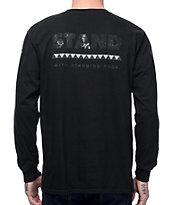 Akomplice Standing Rock camiseta negra de manga larga