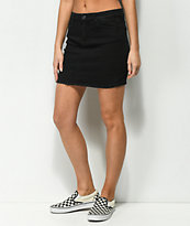 Almost Famous Black Denim Skirt