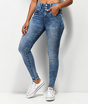 Almost Famous Bombshell jeans ajustados