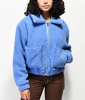 Angel Kiss Wubby Light Blue Sherpa Jacket