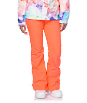 Aperture Girl Kaleidoscope Coral 10K Stretch Snowboard Pants
