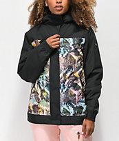 Aperture Glisten Abstract Black 10K Snowboard Jacket