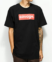 Artist Collective Savage Box Black T-Shirt