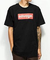 Artist Collective Savage Box camiseta negra