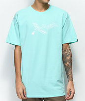 Benny Gold Dad's Crew Warped Mint T-Shirt