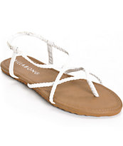 Billabong Crossing Over White Sandals