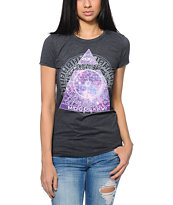 Bitter Sweet Celestial Eye Charcoal T-Shirt