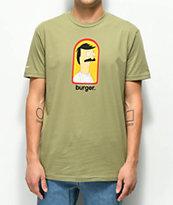 Bob's Burgers x Habitat Burger Olive T-Shirt