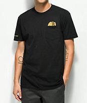 Bob's Burgers x Habitat Burgers Black Pocket T-Shirt