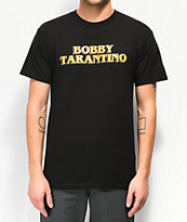 Bobby Tarantino by Logic Movie Title camiseta negra