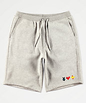Bobby Tarantino by Logic Peace, Love & Positivity Grey Sweat Shorts