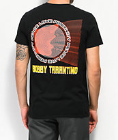 Bobby Tarantino by Logic Shout Black T-Shirt