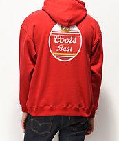 Brixton x Coors Banquet Cask III Red Hoodie