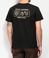 Brixton x Independent Turnpike Black T-Shirt
