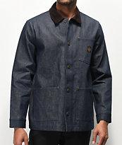 Brixton x Independent Yard chaqueta de mezclilla azul oscuro