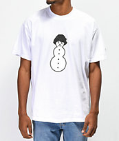 Brooklyn Projects x Shoreline Mafia Ghee Man White T-Shirt