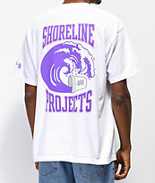 Brooklyn Projects x Shoreline Mafia Wavy White T-Shirt