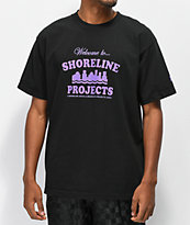 Brooklyn Projects x Shoreline Mafia Welcome Black T-Shirt