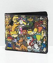 Buckle-Down Nick Cartoon Collage Bi-Fold Wallet