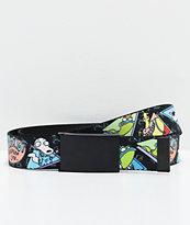 Buckle Down Rocko's 90's cinturón tejido